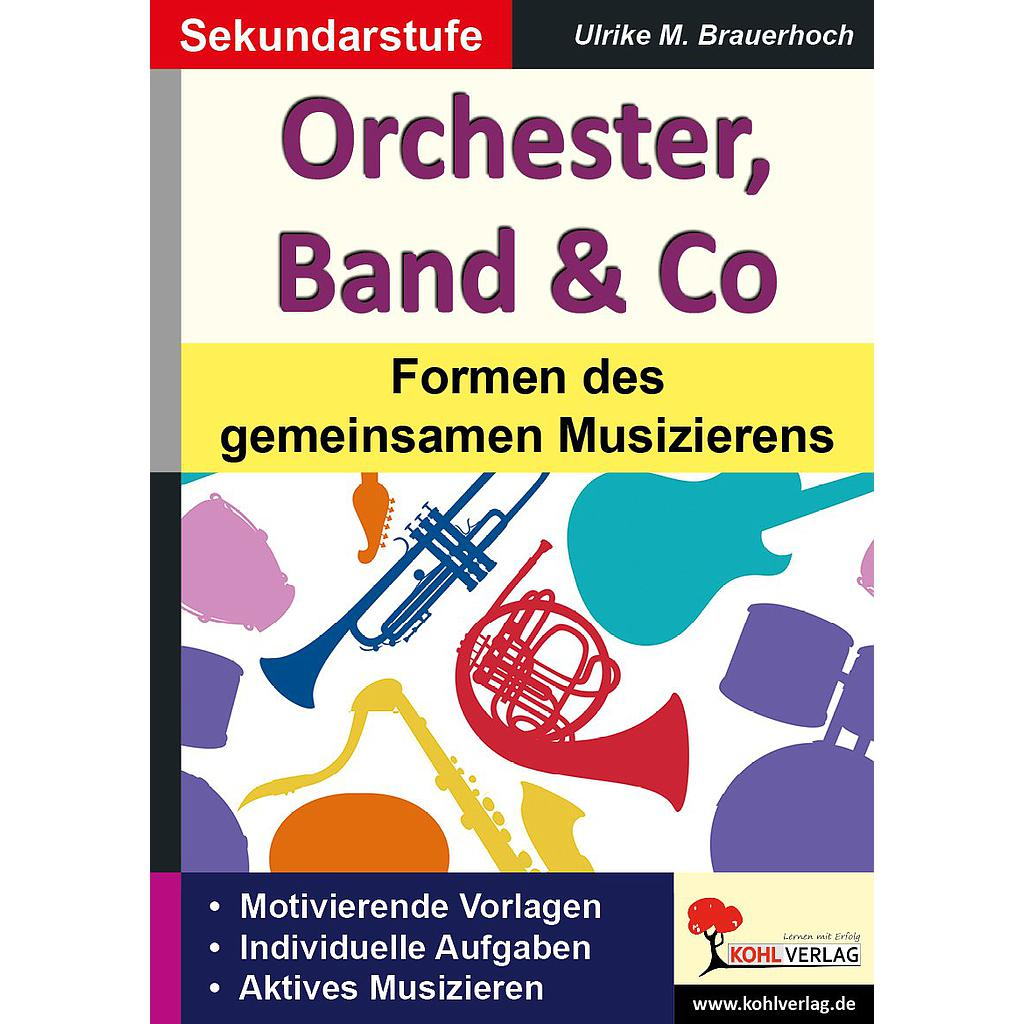 Orchester, Band & Co / PDF, ab 10 J., 68 S.