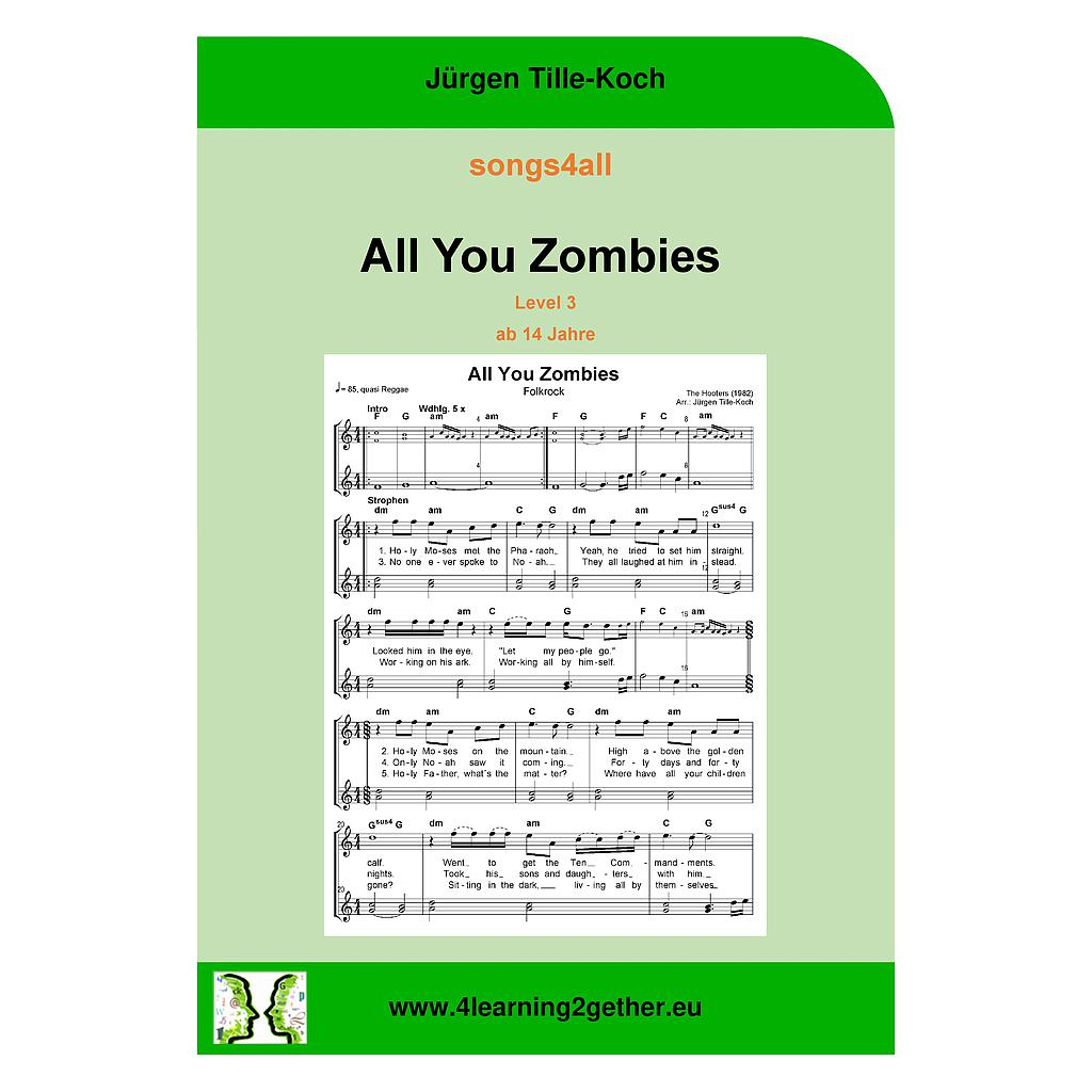 songs4all All You Zombies Level 3