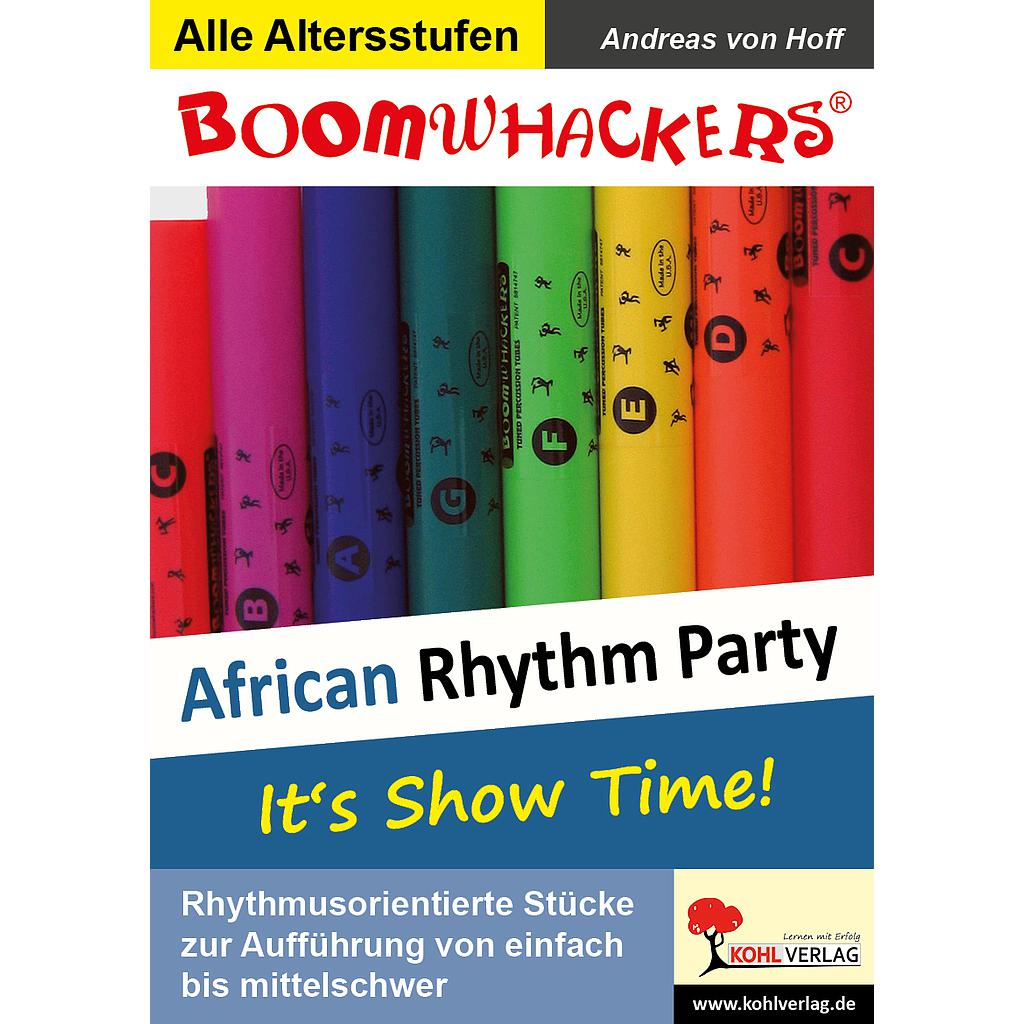Boomwhackers - African Rhythm Party / PDF, ab 6 J.