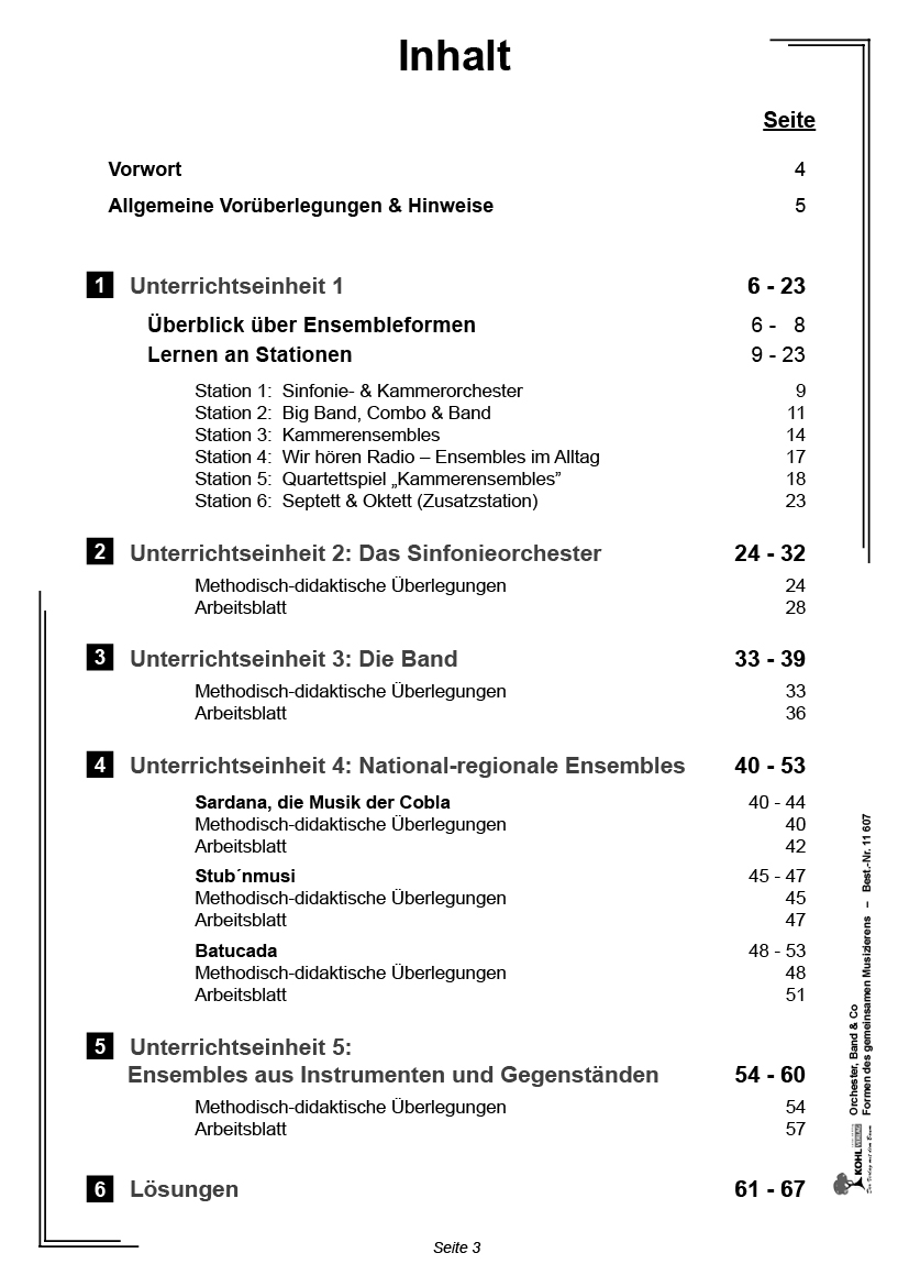 Orchester, Band & Co PDF