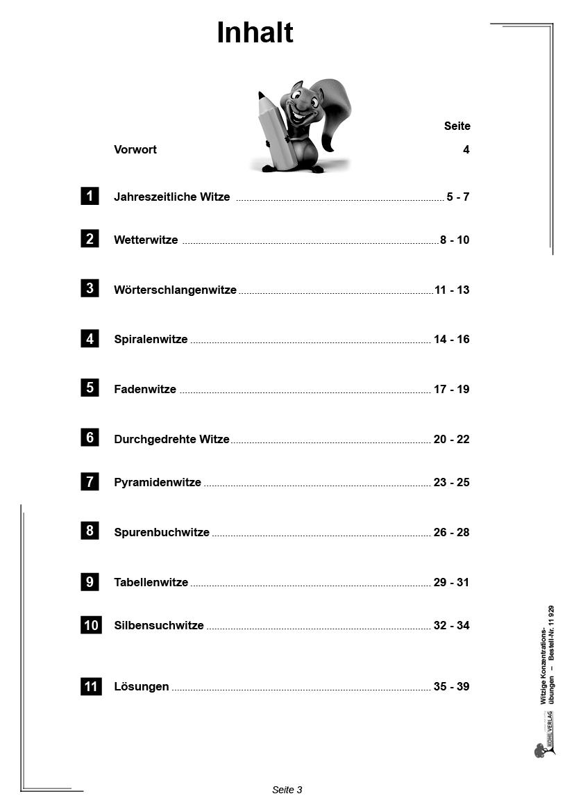 Witzige Konzentrationsübungen, ab 200 Jahre, PDF   200learning20gether.eu